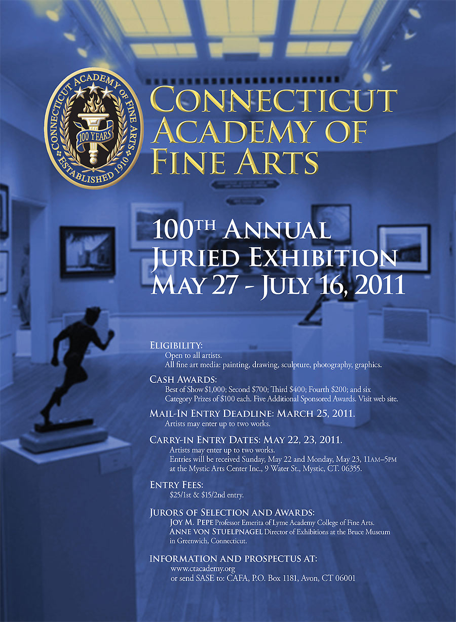 Connecticut Academy of Fine Arts announces Call to Artists for National Exhibition