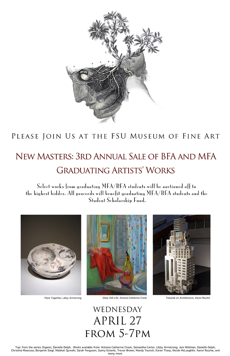 BFA and MFA Graduating Artists' Sale of Artists' Works