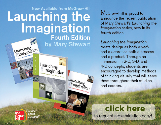 McGraw-Hill publshes 4th edition of FSU Art Professor Mary Stewart's Launching the Imagination