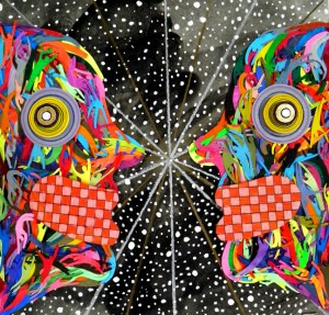 "art work ""Split Janus"" by Michael Velliquette"