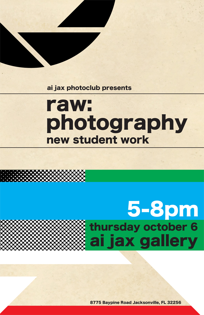 Raw: Photography Exhibition Flyer