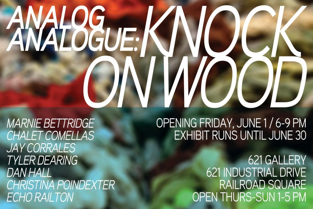 AnalogAnalogue Collective at 621 Gallery, 6/1/12