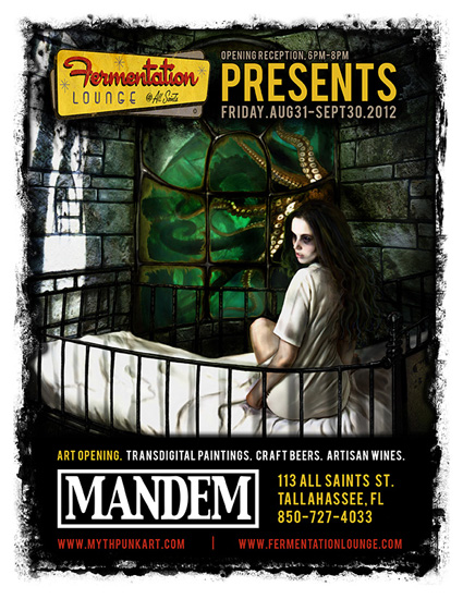 Fermentation Lounge presents the art of MANDEM.