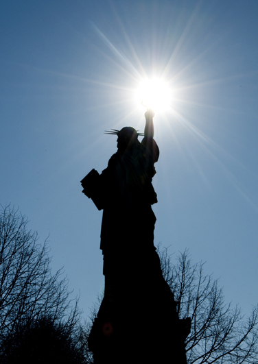 Be Part of an Art: Lady Liberty is Coming to Town