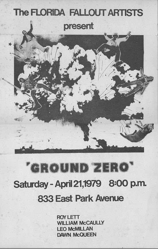 Leo GroundZero Flyer Image