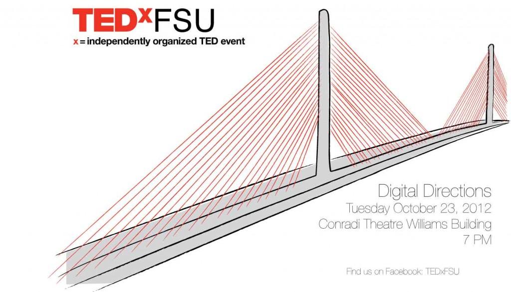 Johnson Hunt, FSU Art MFA '12, Announces FSU TEDx Event, Digital Directions