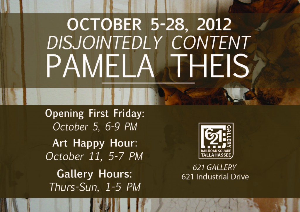 Disjointedly Content By Pamela Theis