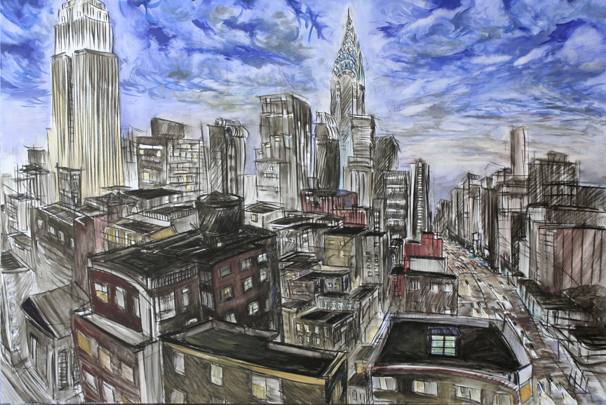 "Steve Zolin ""From Kates's apartment2"""