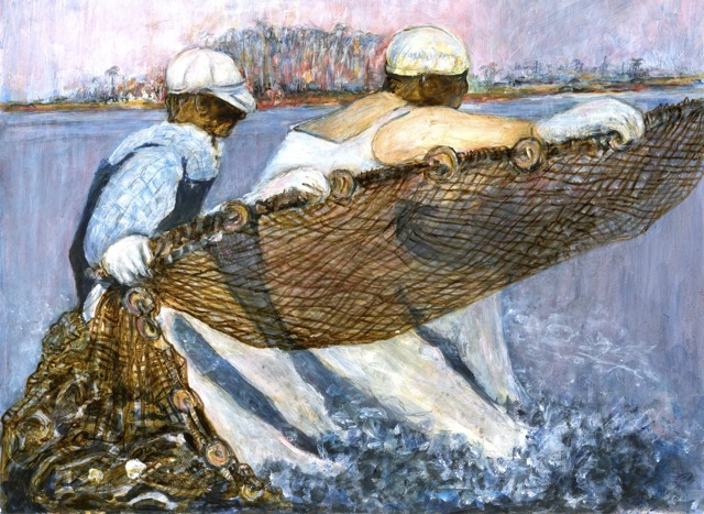 Net-Fisherman-by-Fran-Mathis