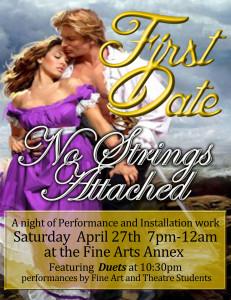 First Date flyer idea