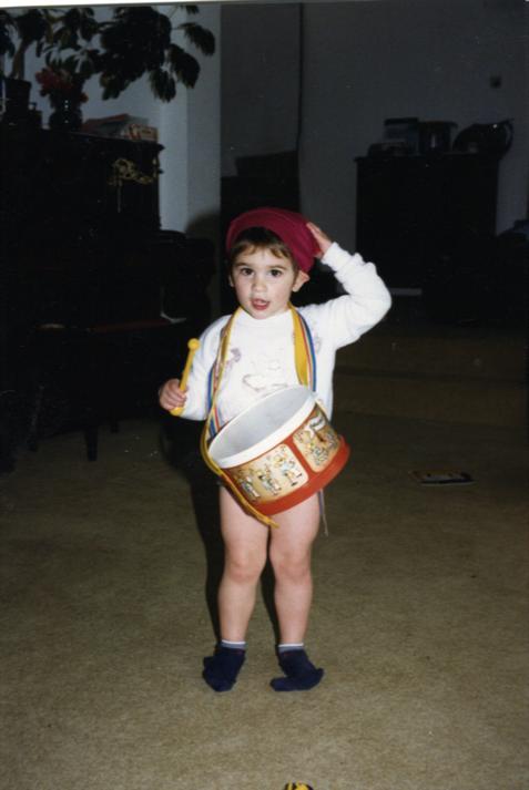 Julia as a child