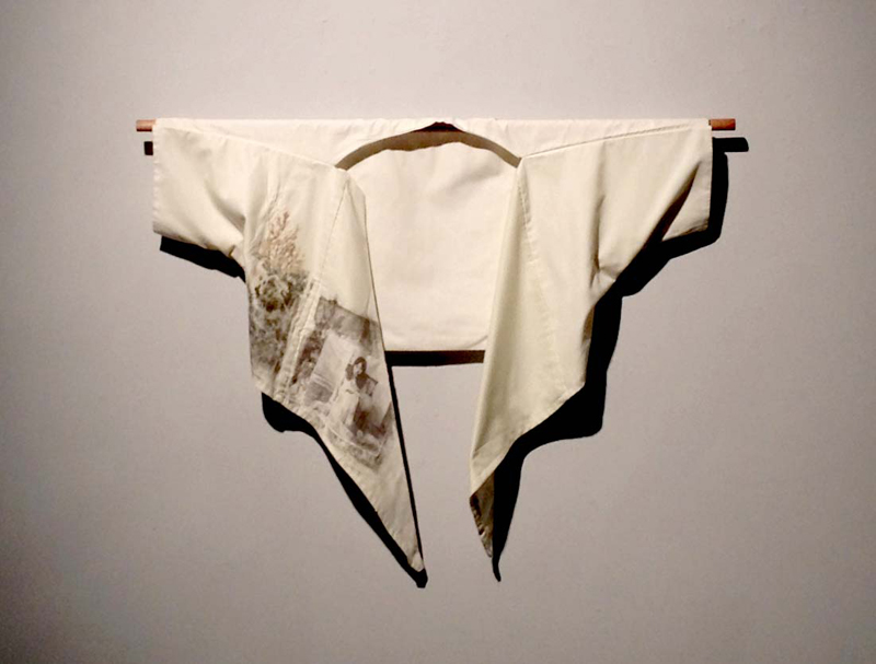 1979, fabric, hand-embroidery, photo transfer