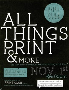 Tallahassee's First Mobile Printmaking Lab: Prints Over Easy