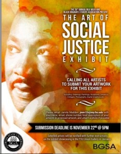 The MLK Art of Social Justice Exhibit