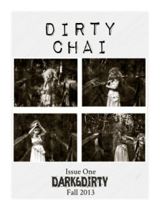 "The cover of ""Dirty Chai"" (Fall, 2013) featuring artwork by MANDEM"