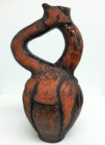 Dana Brown's Double Giraffe Vessel