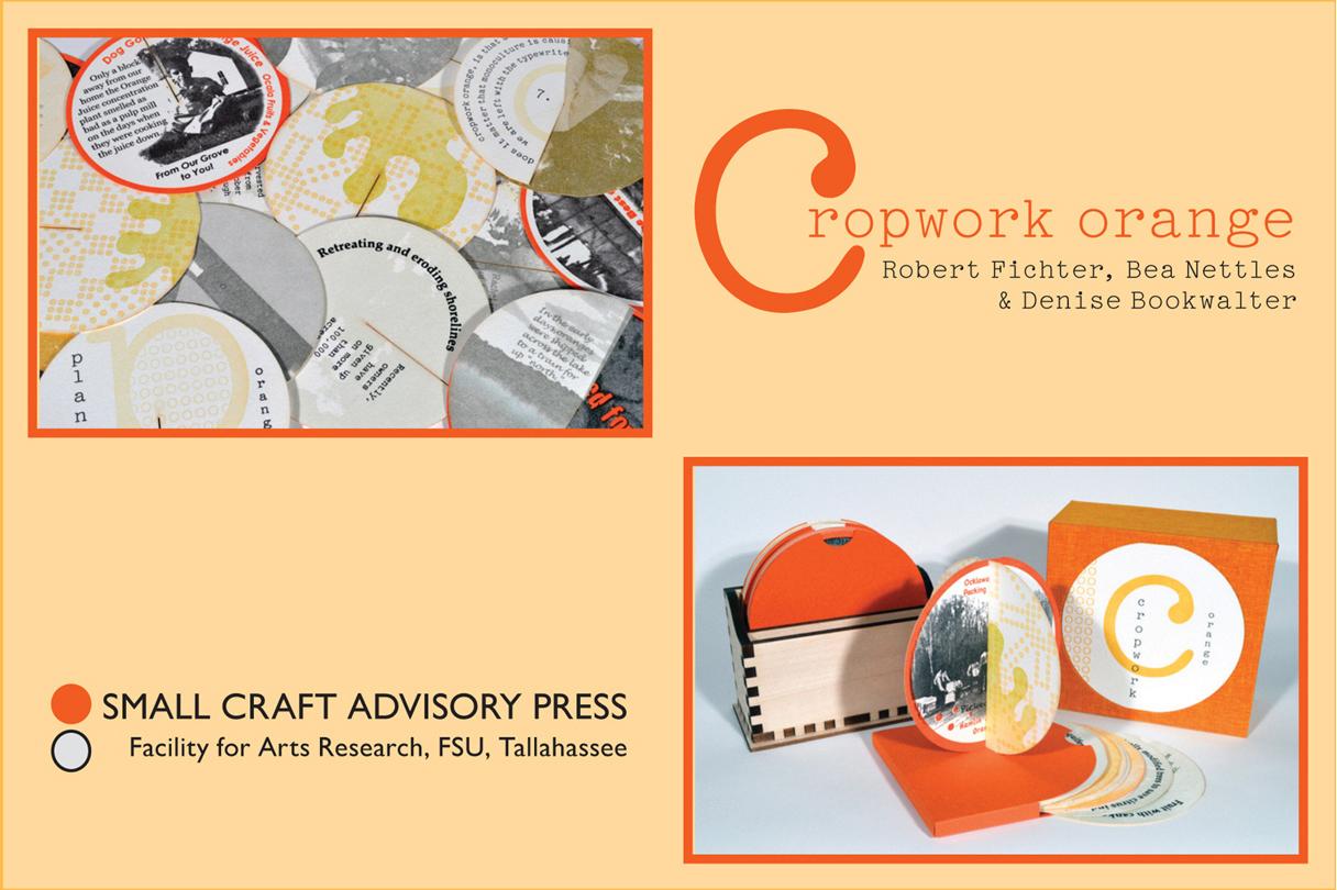 Cropwork Orange postcard