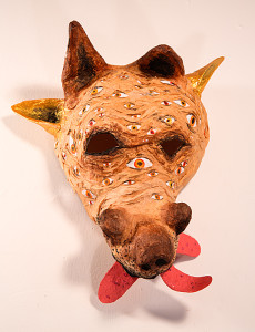 Freedom Mask for the Neglected Dog Across the Street