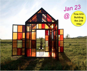 Visiting Artist Will Lamson Thursday January 23rd...Don't Miss It!