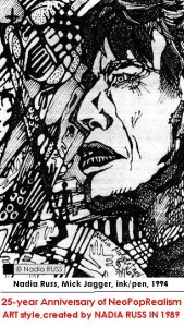 mick_jagger_Neopoprealism_ink_pen_pattern_drawing_by_nadia_russ