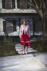 """MANDEM's award-winning painting """"Medusa, In Her Sunday Best"""""""