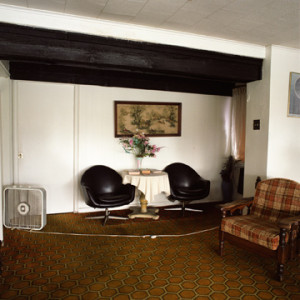 "Motel, DeLand, FL, from the ""Interiors"" series by Laine Wyatt"