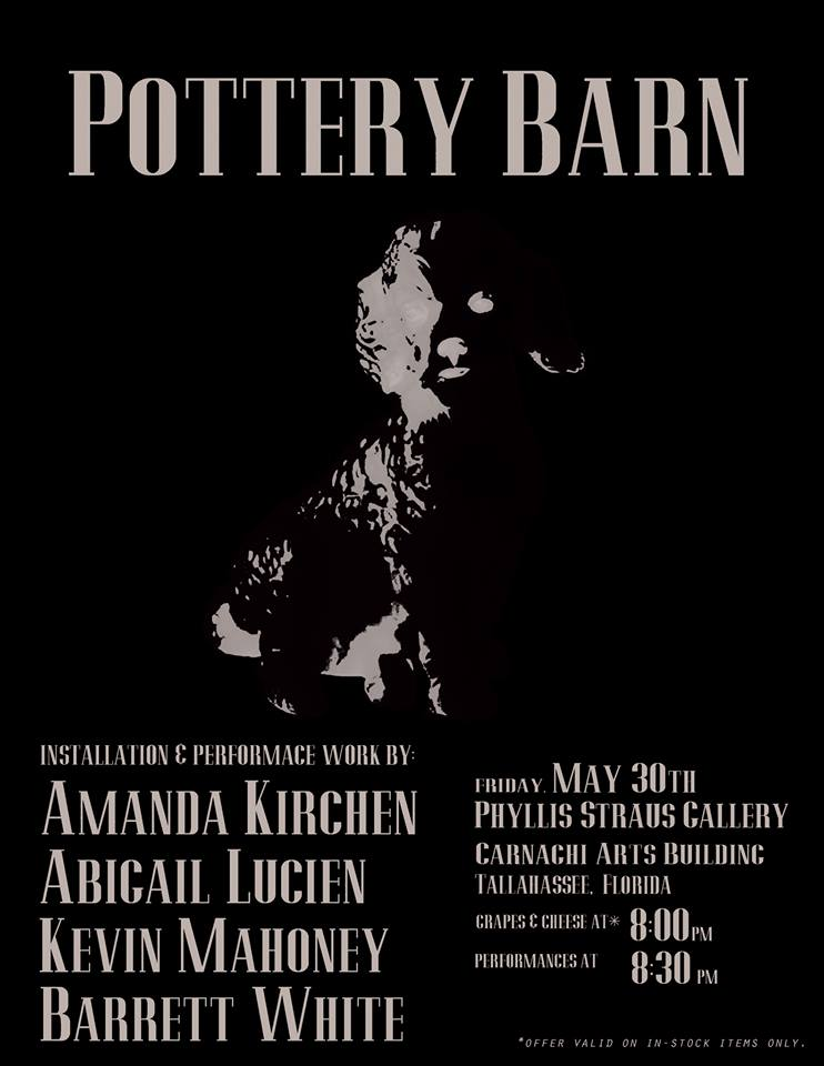 FSU Alum and Guest Artists: Pottery Barn, an exhibition at the Phyllis Straus Gallery