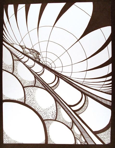 FSU Art Professor Mary Stewart: Line into Labyrinth Creativity Workshop, July 31