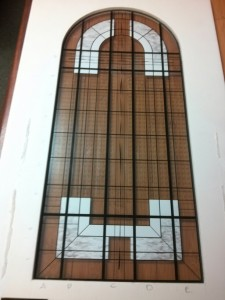Model for stained glass project