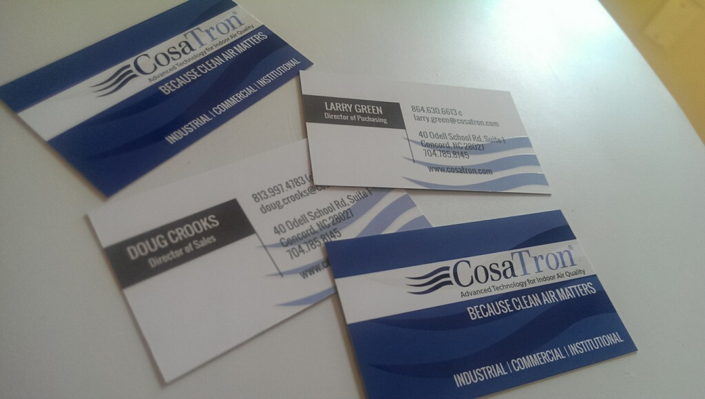 Some Business Cards designed by Kelly