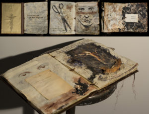 """MANDEM's artist book """"GIFT: Exegesis"""" was accepted for the 2014 PINNACLE National Juried Art Competition."""