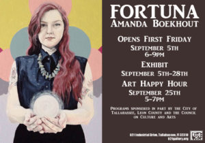 Adjunct professor Amanda Boekhout's exhibition 'Fortuna""