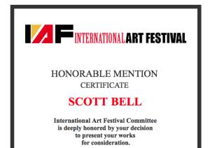 FSU Art MFA '16 Scott Bell International Art Festival in NYC