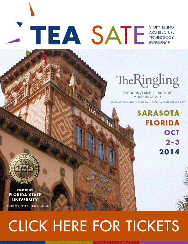 Flyer of TEA SATE at the Ringling