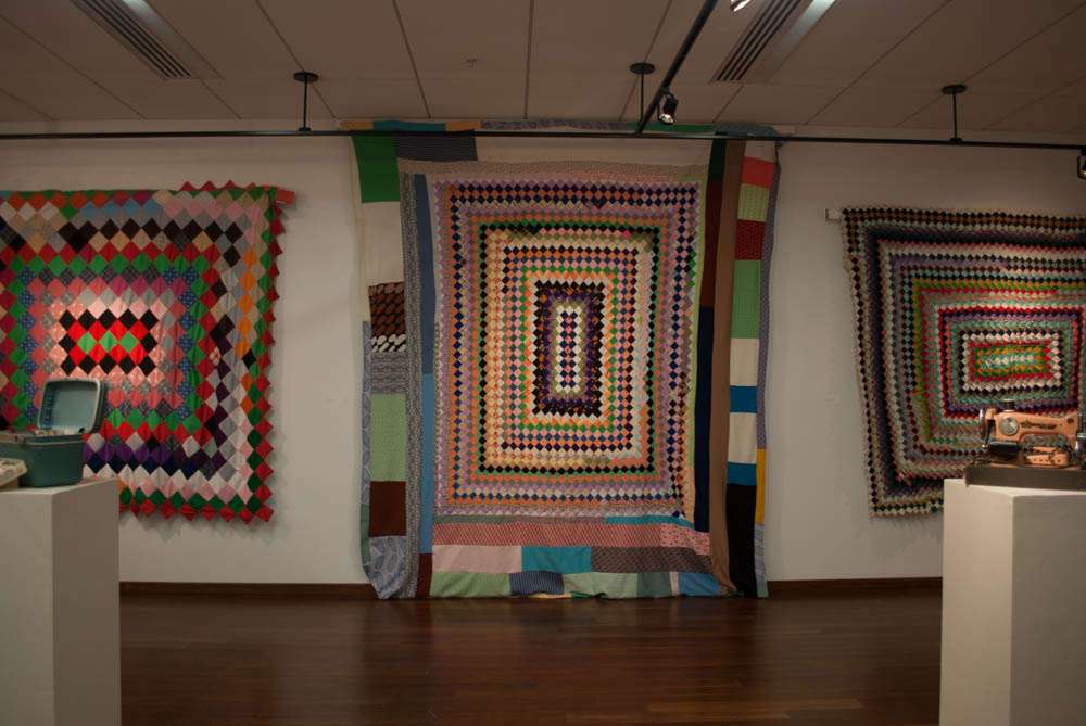 3 quilts from left to right