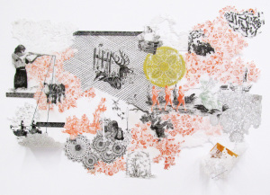 Laura Tannere in Art on Paper 2014: The 43rd Exhibition