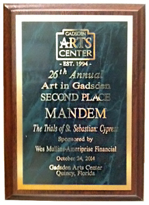 MANDEM Wins Award at Art in Gadsden Exhibit