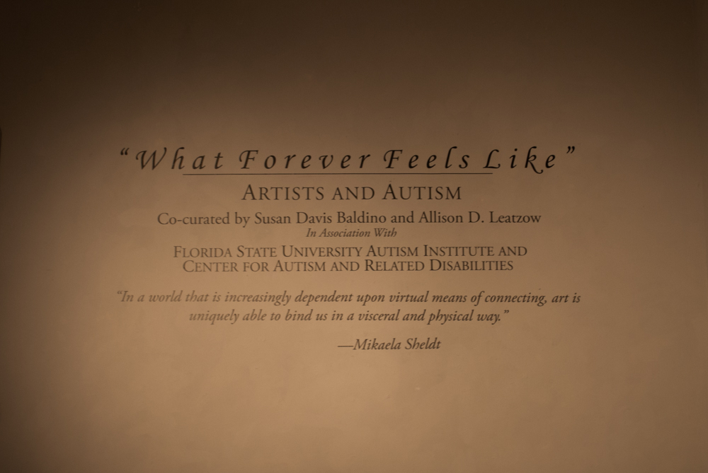 "Frontal shot of title ""What Forever Feels Like"""