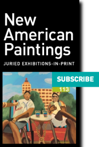 New American Paintings juried exhibitions in print