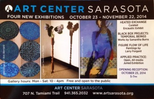 Samantha Burns in Solo Exhibition at the Sarasota Art Center