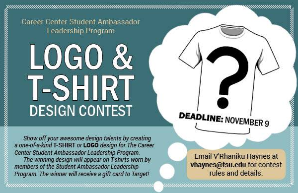 Department Of Art Fsu Career Center Logo T Shirt Design Contest