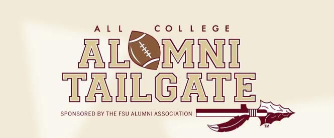 Alumni Tailgate Banner
