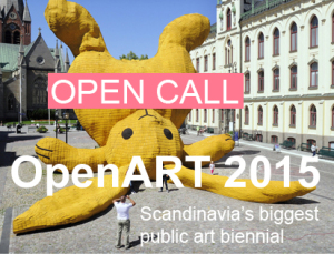 Apply to OpenART 2015, Scandinavia's Biggest Public Art Biennial