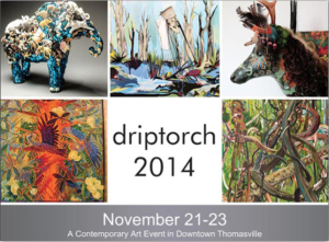 Driptorch 2014 Reception and Artist Talk