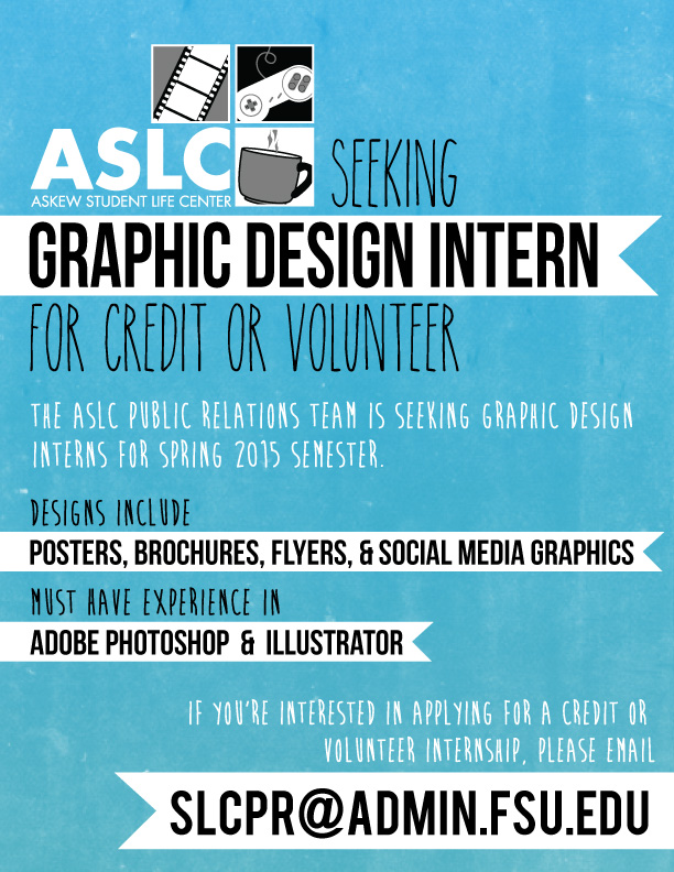 Graphic design internships  Department of Art | ASLC Graphic Design Internship