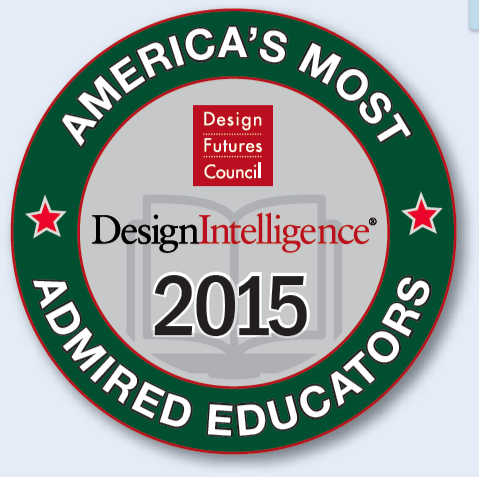 America's Most Admired Educator's Interior Design Seal