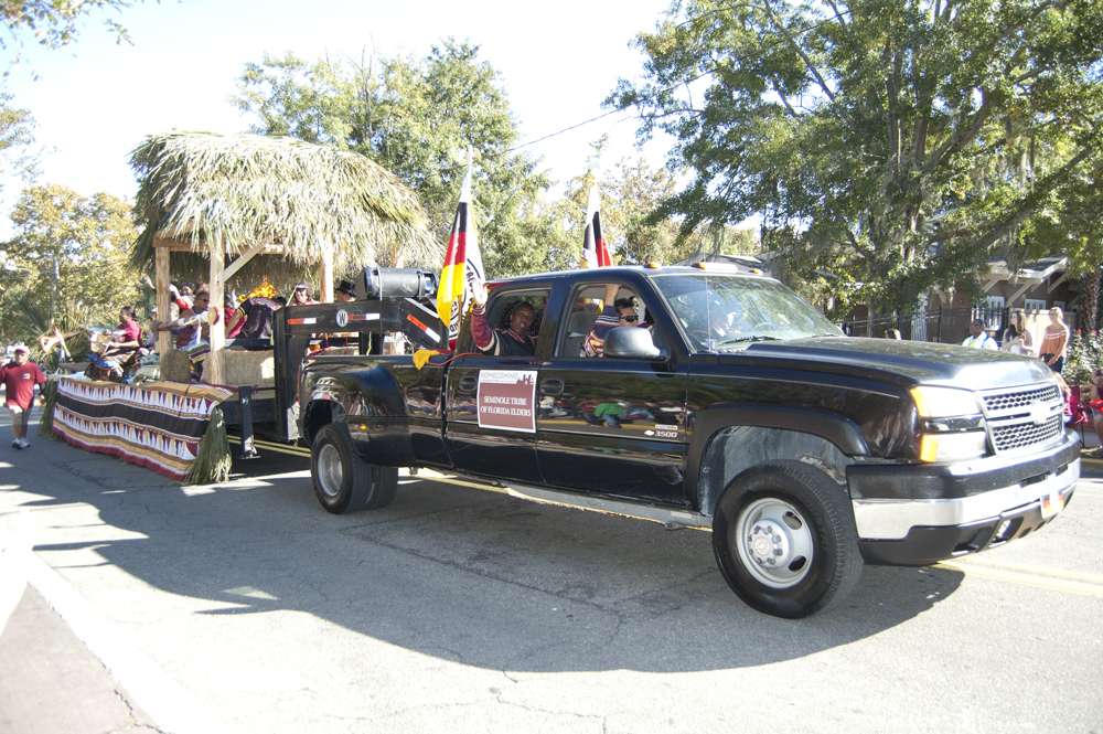 FSU Homecoming Parade, Seminole Tribe of FL Elders
