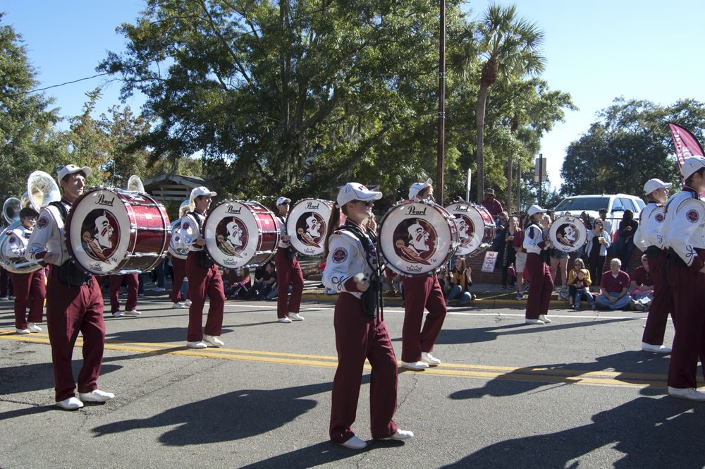 FSU Homecoming Parade, Marching Chief's Crazy 8