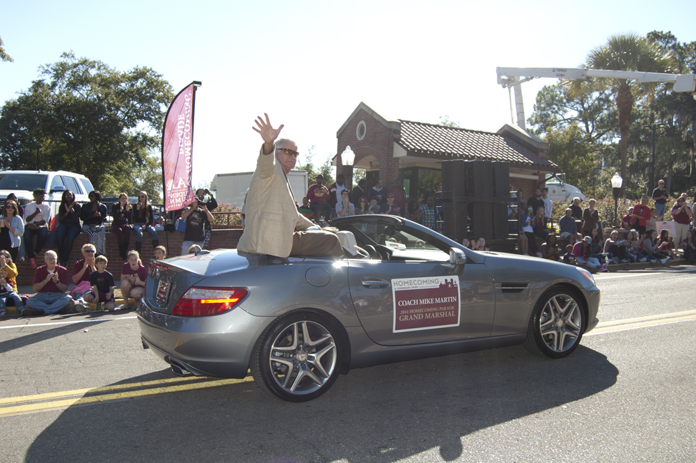 FSU Homecoming Parade, Grand Marshal