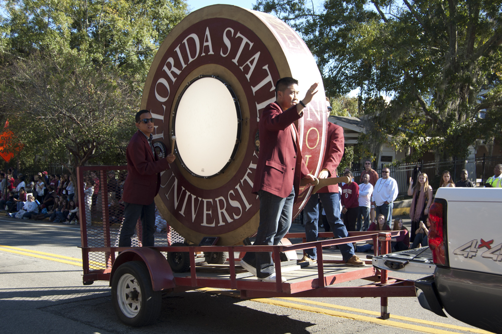 FSU Homecoming Parade, Spirit Drum